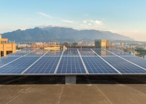 rooftop solar energy, photovoltaic power generation in city
