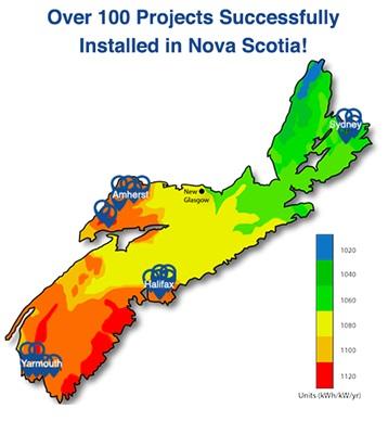 Nova Scotia - Profusion -projects